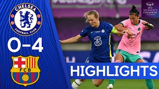 Chelsea 0-4 Barcelona | UEFA Women's Champions League Final | Highlights