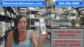 Original Sharp RRMCGA470WJSA TV Remote Control (GA470WJSA)(076B0MQ010)(9JD076B0MQ010) Coupon $5 Off