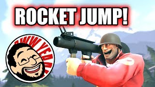 TEAM FORTRESS 2 - Como dar ROCKET JUMP!
