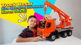 Praya Mainan Mobil Truck Crane Besar