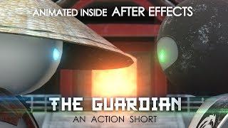 Elemento Corto 3d de la película - EL GUARDIAN de animación en 3d dentro de AE)
