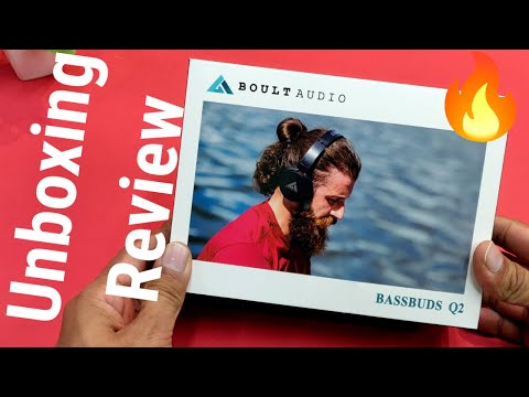 Boult Audio Bass Buds Q2 Unboxing & Review - Yeto Wahi Hai Comfortable Headphones, let's see