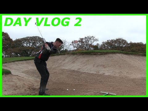 Bunker & Pitching Practice ¦ Daily Vlog 2