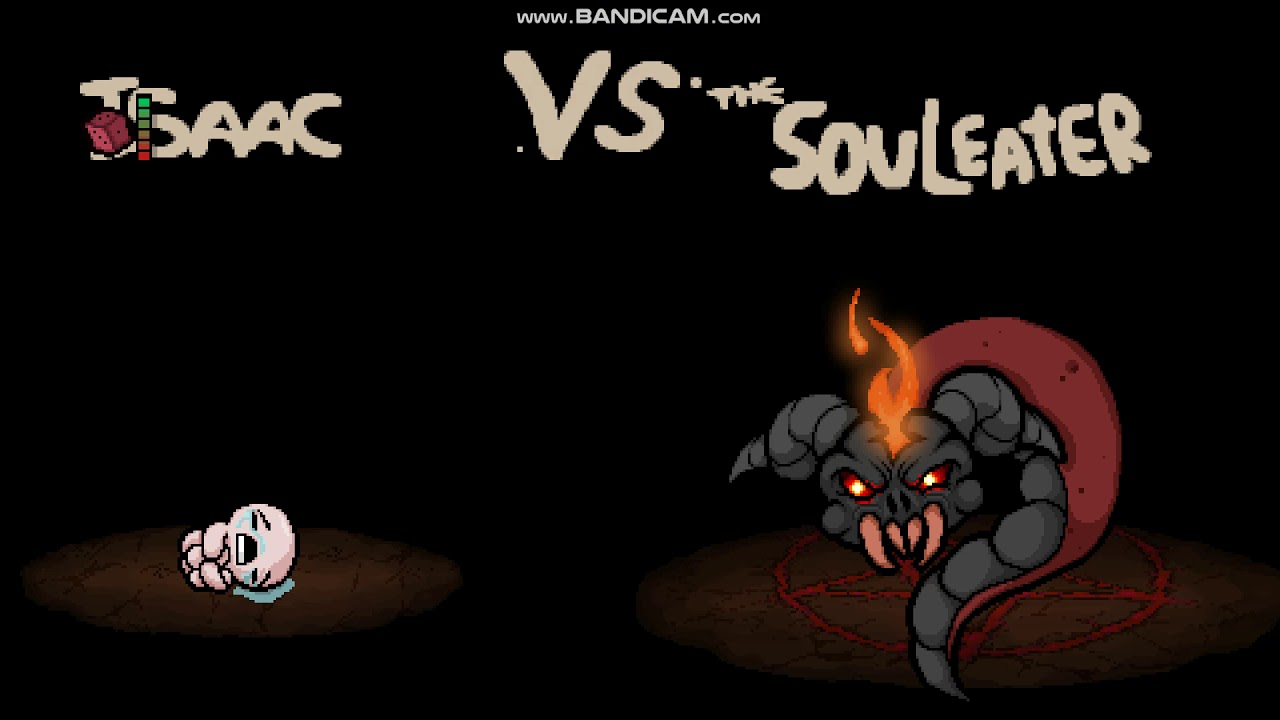 The binding of issac afterbirth + Secret Bosses the ritual and souleater