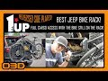 Best Jeep Bike Rack - 1UP-USA With Reversed Side Plates - FULL CARGO ACCESS