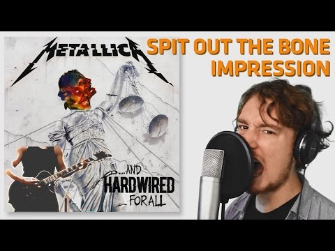 If Spit Out The Bone was on AJFA (Vocal Cover / Impression) - Collab with GuitarRazze!
