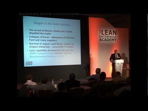 Lean Summit 2011 - Dan Jones - Deployment of Lean across the UK