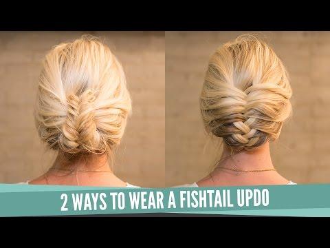 Easy Fishtail Upstyle
