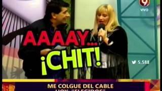 ME COLGUE DEL CABLE - ELEGIDOS - 18-09-15