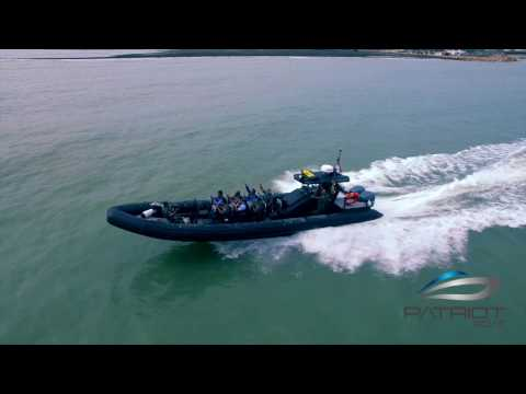 RIB (Rigid Inflatable Boat) PATRIOT BOAT Sea Raider Alloy M113A - Indonesia Product