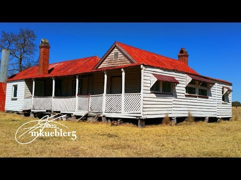 Abandoned: Early Australian farm house with awesome period detail had me confused