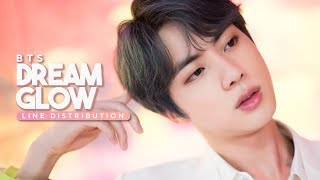BTS ft. Charli XCX - Dream Glow (BTS World OST) // Line Distribution