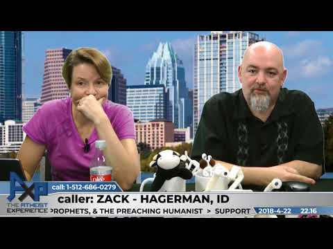 Roots of Theistic & Atheistic Morality   Zack - Hagerman, ID   Atheist Experience 22.16