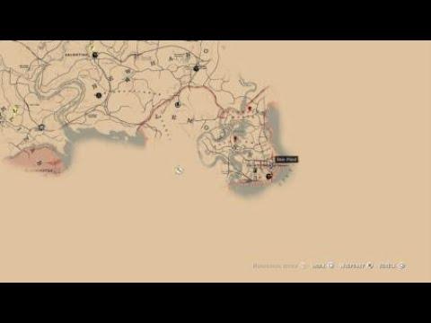 Red Dead Redemption 2 Legendare Tiere Karte.Red Dead Redemption 2 Legendares Fell Beim Trapper Verkaufen