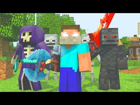 "♫ ""RAIDERS"" - MINECRAFT PARODY - ANIMATED MINECRAFT MUSIC VIDEO"