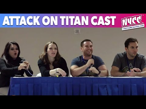 The Attack on Titan Q&A with Eren, Annie, Petra and Bertholdt at Magic City Comic Con 2015