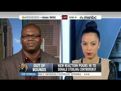 Angela Rye Talks Donald Sterling and the Clippers w MSNBC's Alex Witt
