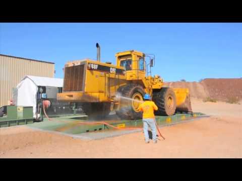 Remote Equipment Wash Rack