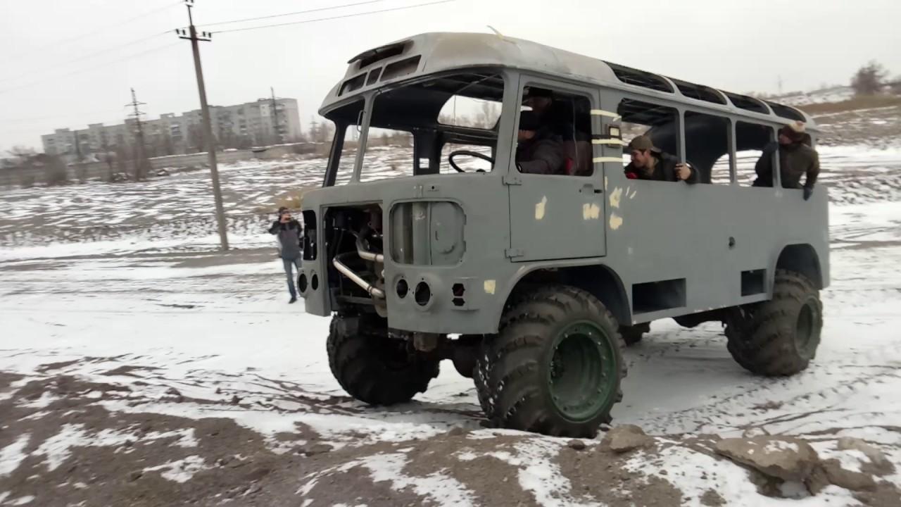 Цельнометаллический грузовой фургон 4*4, фермер, грузопассажирский.