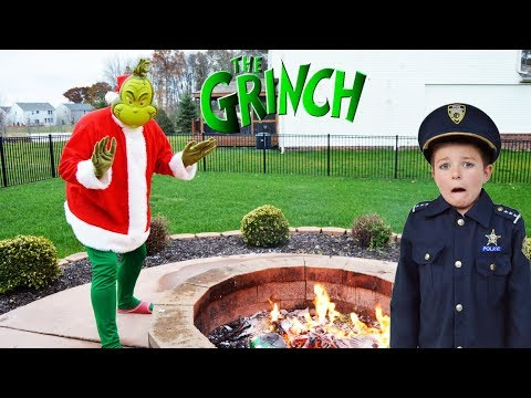 Download Youtube: Christmas Grinch takes presents from silly kids video