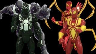 Marvel Ultimate Spider-Man Web-Warriors Iron Spider & Agent Venom from Hasbro