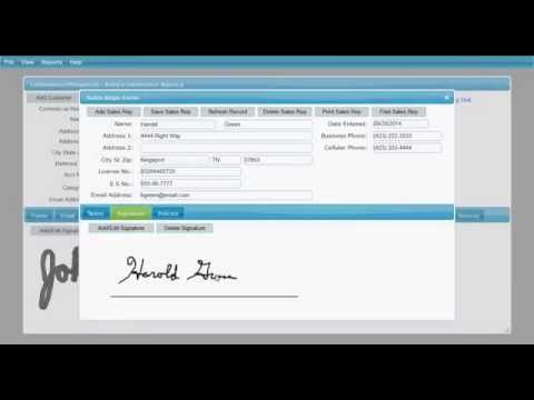 ACORD Forms Electronic Signatures