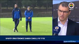 Sportif Direktörümüz Damien Comolli'nin Açıklamaları