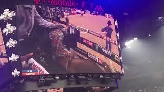 Cody Jesus rides Millennium's Buck for 87.5 points (PBR)