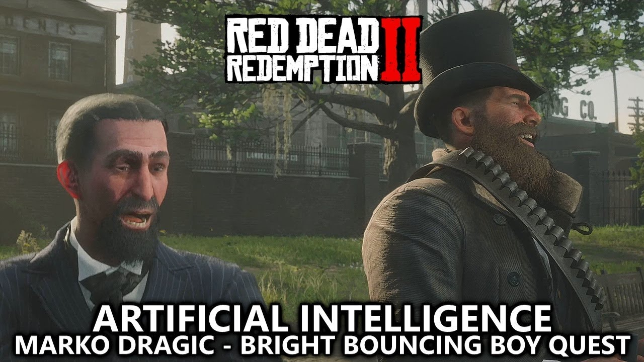 Red Dead Redemption 2 - Artificial Intelligence Achievement - The Bright Bouncing Boy (Marko Dragic)