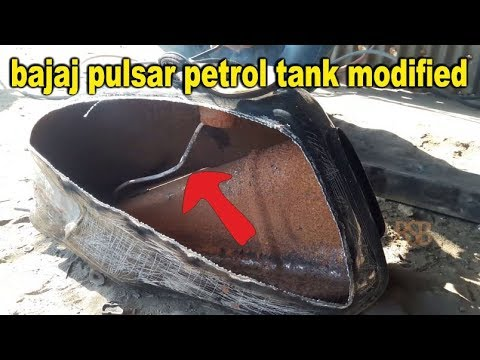 bajaj pulsar petrol tank modified | Making Motorcycle Gas Tanks | bullet singh boisar