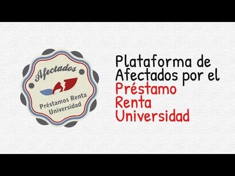 Plataforma de Afectados Préstamo Renta Universidad - ESTAFA BANCOS de YouTube · Duración:  4 minutos 10 segundos