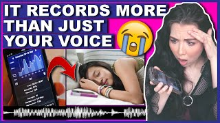 DO NOT Use A Sleep Talking App On Your Phone