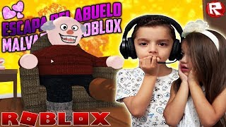ESCAPE FROM THE EVIL GREAT IN ROBLOX [Escape Grandpas House Obby] THE HOUSE OF THE LOCO ABUELO💜