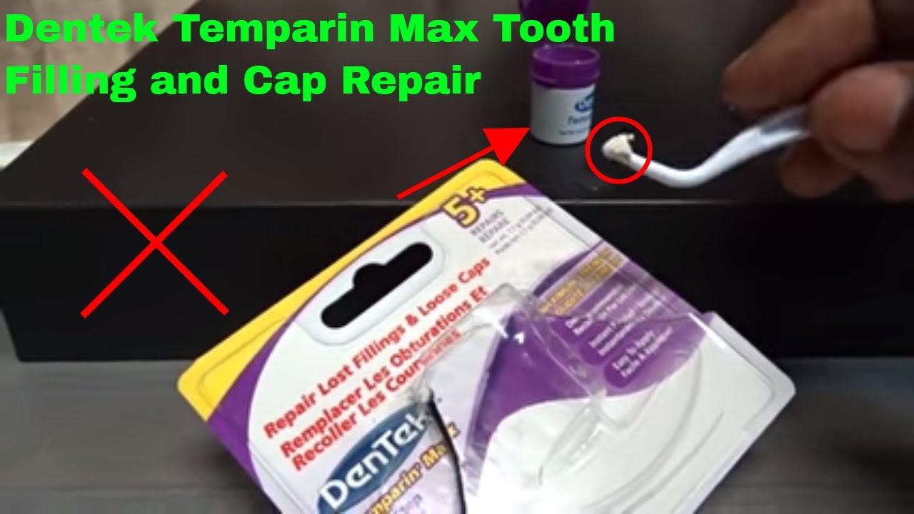 ✅ How To Use Dentek Temparin Max Tooth Filling and Cap Repair Review