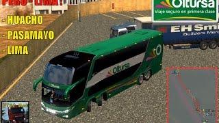 Ruta: Huacho - Pasamayo - Lima (Lima-Peru) Euro Truck Simulator 2