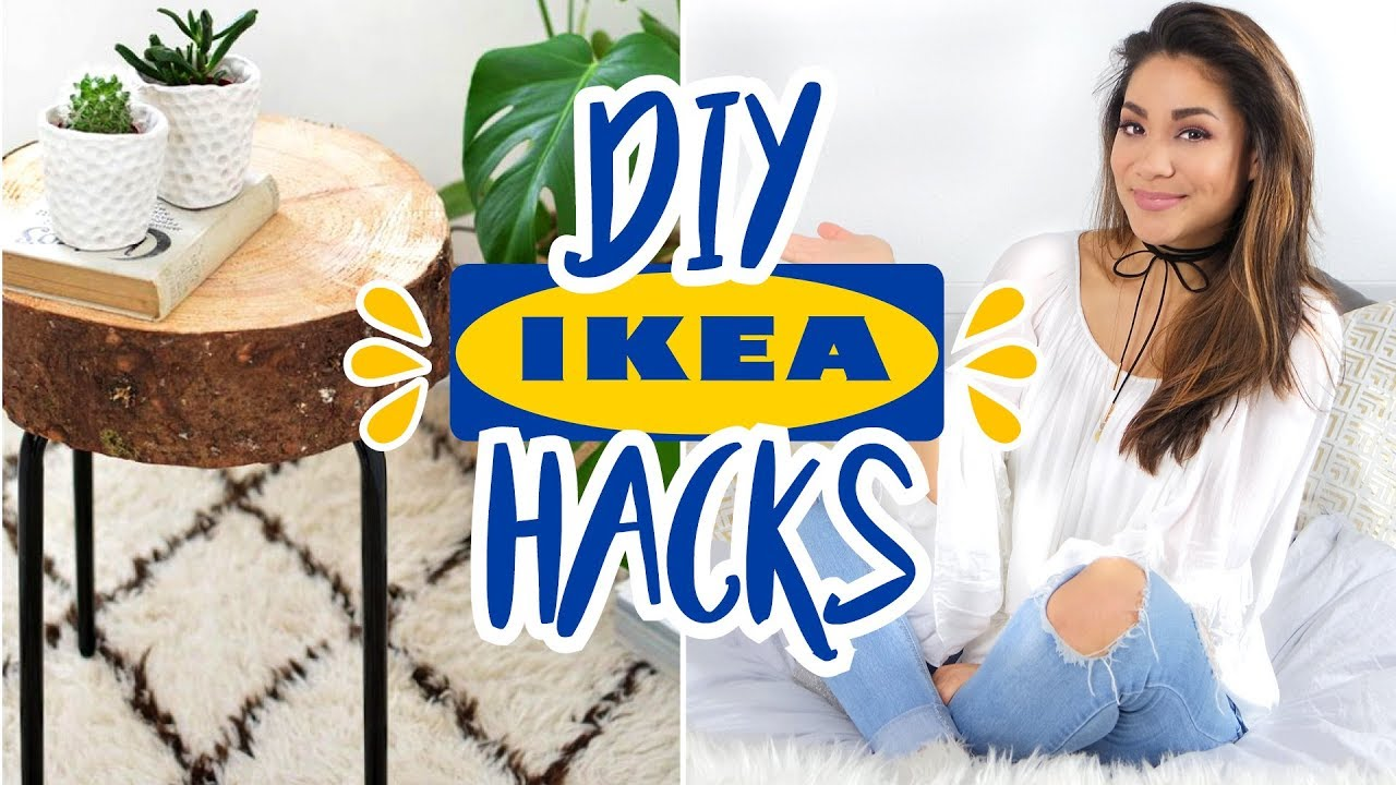 5 easy diy ikea hacks individuelle m bel selbst gestalten annkath beauty youtube. Black Bedroom Furniture Sets. Home Design Ideas
