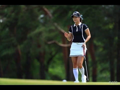 ゴルファー 韓国 美人