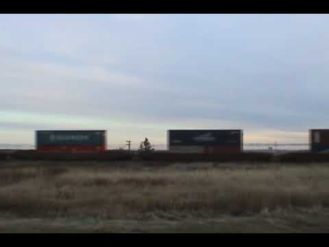 CN 120 at Aulac NB 2009/11/05