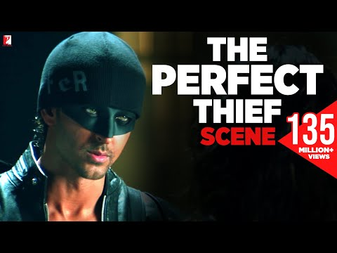 Scene: Dhoom:2 | The Perfect Thief | Hrithik Roshan | Abhish