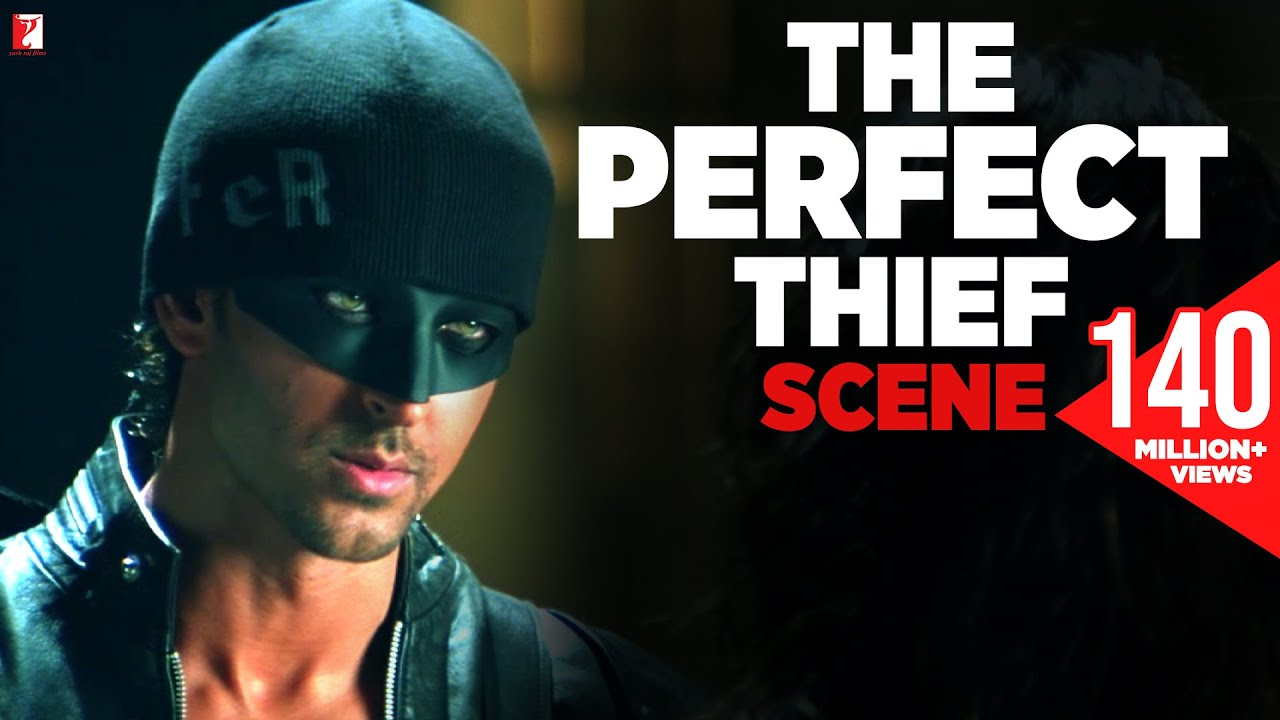Scene: Dhoom:2 | The Perfect Thief | Hrithik Roshan | Abhishek Bachchan | Uday Chopra #1
