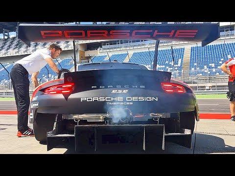 Porsche 911 RSR (2017) YOUCAR Test Drive