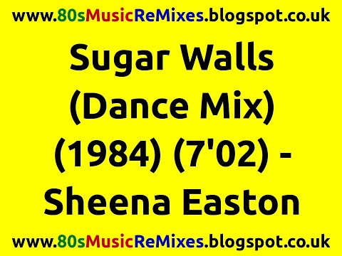 Sugar Walls (Dance Mix) - Sheena Easton | Prince | 80s Club Mixes | 80s Club Music | 80s Dance Music