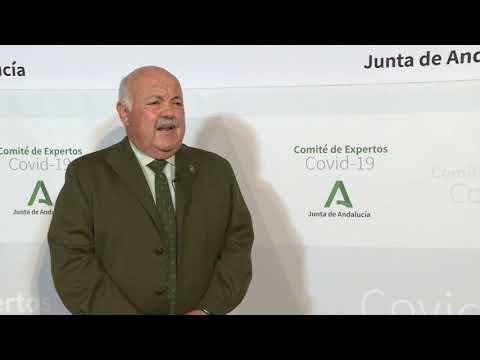 Jesús Aguirre, consejero de Salud y Familias 7 de abril de 2021