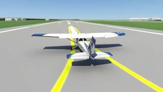 Normal and Crosswind Takeoff and Climb