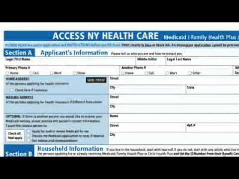 Medicaid Chronic Care Application Process Video - Youtube