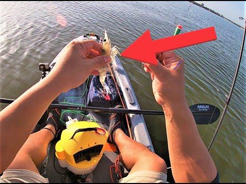 Fishing Clear Lake, TX (Pelican Catch 100 Kayak)