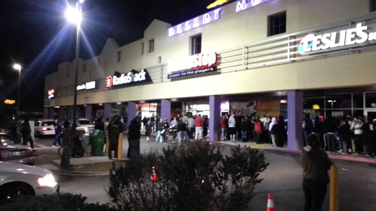 Cod Black Ops 2 Midnight Lines At Gamestop El Paso Tx