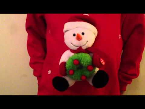 Musical Christmas Jumper Novelty Competition