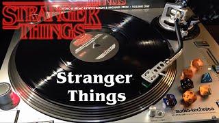 Stranger Things Vol. 1 - Stranger Things - Black Vinyl LP