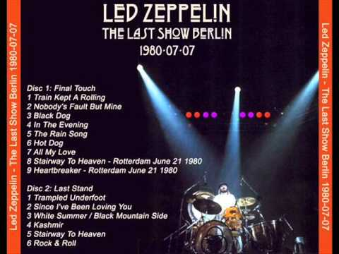Led Zeppelin Live In Berlin 1980 The Last Concert Youtube